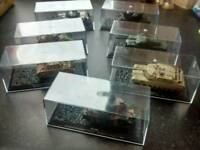 Diecast Military Tank Collection