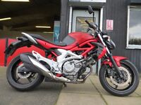 2013 Suzuki SV650 Gladius - £3350. MOT until Dec 17. Great condition. Finance subject to status