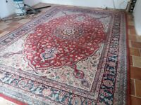 Lovely Large Modern Wool Carpet