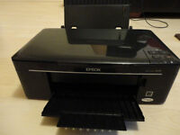 PRINTER - Epson Stylus SX125 + 2 Cables - Cheap Ink Cartridges !!