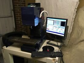 CNC milling machine - Mach 3 - Denford Triac
