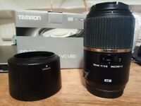 Tamron 90mm f2.8 Macro 1:1 SP Di VC USD Lens for Canon - Boxed