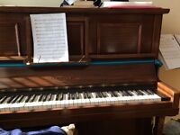 Upright piano to loan free for up to 2 years to good home