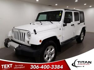 2014 Jeep Wrangler Unlimited|Sahar|4x4|Leather|NAV