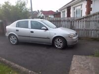 2002 MK4 VAUXHALL ASTRA 1.6 16V SXI FOR BREAKING