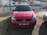 RENAULT CLIO RED 2007 £695