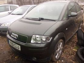Audi A2 2001 BREAKING FOR SPARES PARTS