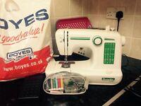 Dunelm sewing machine and accessories