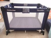 Travel cot £15