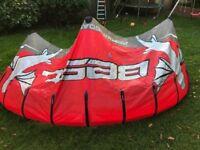 Kitesurfing kite 7m