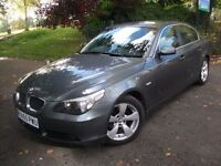 BMW 5 Series 2.0 520d SE 4dr£3,975 1 OWNER, LEATHER, NEW MOT DONE 2006 (55 reg), Saloon