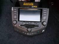 Honda accord satnav radio
