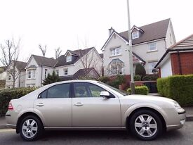 12 MONTH WARRANTY! (05) FORD Mondeo Ghia 2.0 TDCi 130PS (Auto Gearbox) 1 Owner - 57,000 Miles - FSH