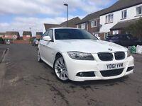BMW 330d m sport white