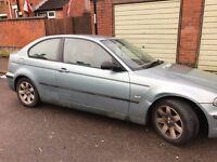 BMW 316TI COMPACT 3 DOOR SPORT 2002 £795