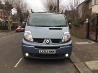 2013, 63 plate Renault trafic sl27 sportive 115 dci swb