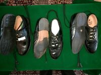 3 pairs of Kilt shoes / Ghillie Brogues