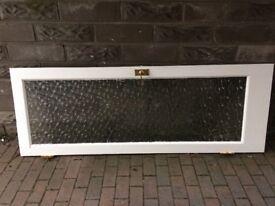 Door with glass panel