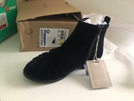 Zara kids/girls ankle boots shoes brand new