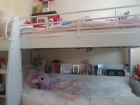White bunk bed for sale