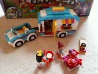Lego Friends summer caravan set