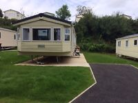 Gorgeous modern 8 berth Caravan Holiday Home at Looe Bay Holiday Park in Cornwall