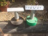 Two greenhouse heaters