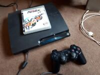 Play Station 3 Slim 120GB One year Cex warranty + Burnout Paradise