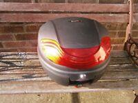 Rear box for motorbike