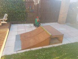 Scateboard and BMX Ramps