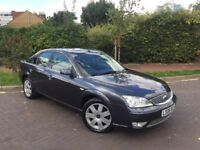 2006 FORD MONDEO TDCI GHIA X DIESEL SAT NAV LEATHER DRIVES SUPERB