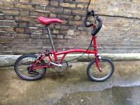 BROMPTON P6E 6 Speed Folding Bicycle *WORLDWIDE SHIPPING *