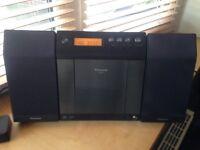 Panasonic SA-EN37 Micro Sound System CD/iPod Radio