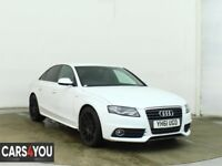 AUDI A4 2.0 TDI S LINE 4d 134 BHP SERVICE RECORD + FULL YEAR MOT + 1 PREVIOUS KEEPER ++