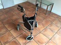 'Days' tripod, wheeled walking aid