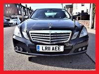 PCO -- 2011 Mercedes E Class 2.1 -- E220 CDi SE AUTO -- BlueEFFi -- DIESEL -- Famous Model -- E 220