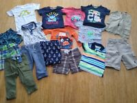 Boys summer clothes bundle size 1.5-3 years