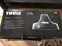 Thule Rapid System roof rack feet with Locks