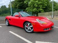 1999 Porsche Boxster 986 2.5 CONVERTIBLE HPI CLEAR 12 Months MOT 104K Miles