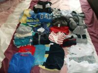 Huge bundle boys' clothes age 3 to 4 years