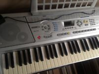 Organ keyboard piano