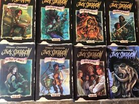 Jack sparrow 8 set books. Perfect gift