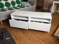IKEA Tv stand - £50 - Excellent Condition - Free Shoe Rack
