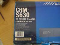 Alpine car system: CHMS630, TDM7545R, RUE4187: changer, 35w/4 receiver amplifier and remote control