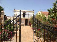 Villa Eleni (traditional house) to rent in crete