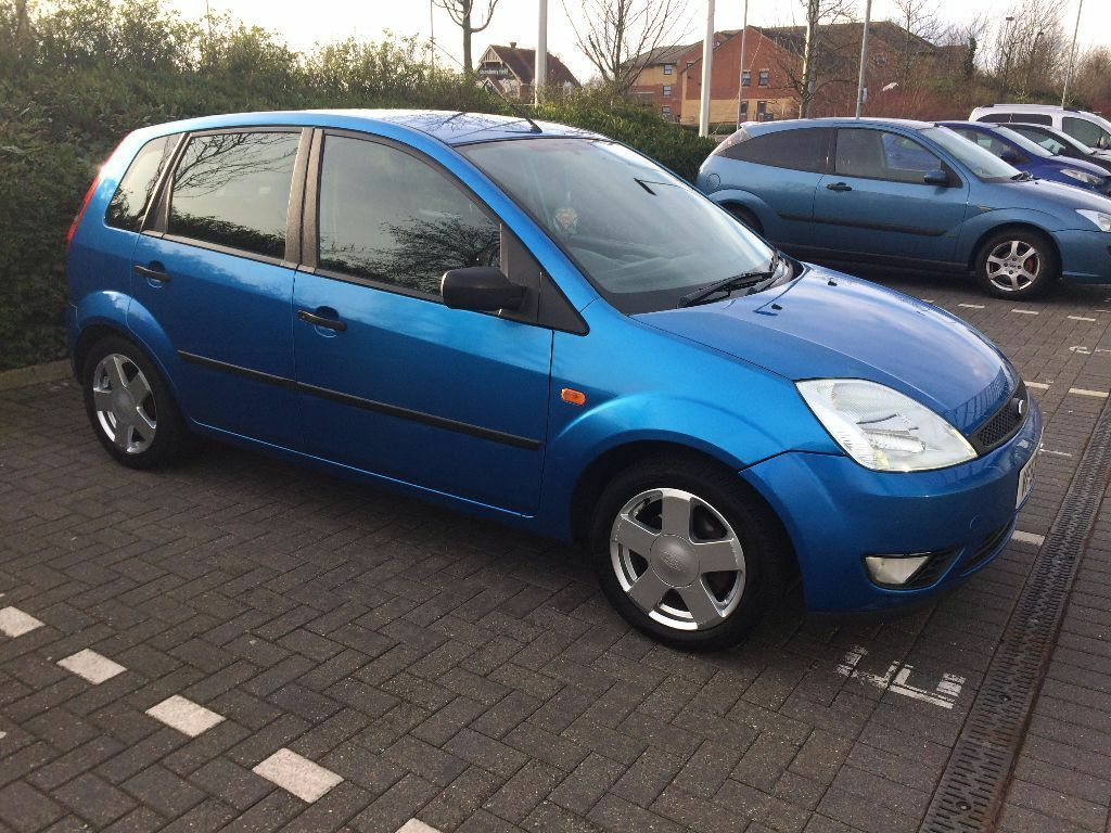 ford fiesta 2003 1 4 zetec 5dr blue 93k great first car. Black Bedroom Furniture Sets. Home Design Ideas