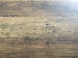 Next Chiltern Extending Dining Table in rustic oak finish (seats 6–8)