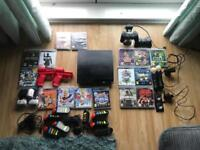 PlayStation 3 with 16 games and all accessories