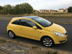Eye Catching Vauxhall Corsa 1.4 i 16v Design 3dr (a/c)