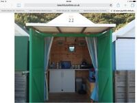 Beach Hut for hire at Alum Chine